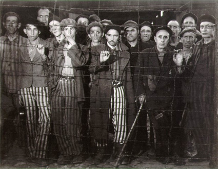 Prisoners at Buchenwald by Margaret Bourke-White. Source: masters-of-photography.com