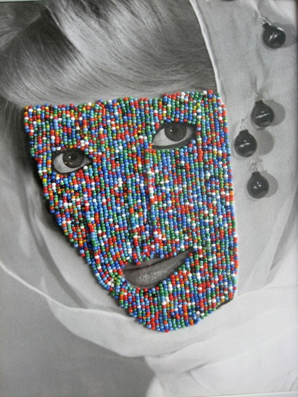 Beaded Face by Joseph Heidecker. Source: foleygallery.com