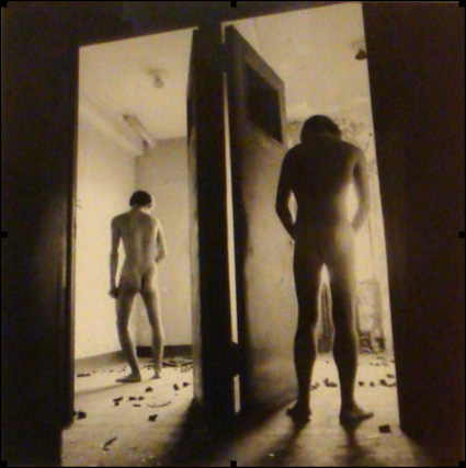 Two Men, Two Rooms by Arthur Tress. Source: leslielohman.org