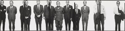 The Mission Council by Richard Avedon. Source: gagosian.com