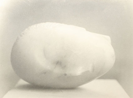 Sleeping Muse by Constantin Brancusi. Source: brucesilverstein.com