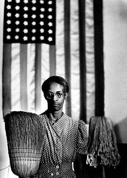 American Gothic by Gordon Parks. Source: nypl.org/locations/tid/64/exhibitions
