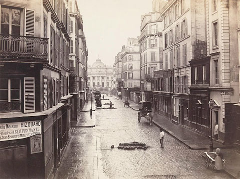 Photo by Charles Marville . Source: metmuseum.org